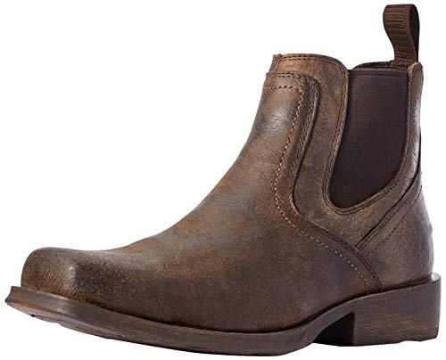 Ariat Men's Midtown Rambler Boot Western, Stone, 11