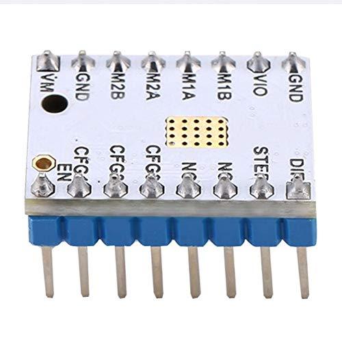 Con módulo de controlador de motor paso a paso Reprap adhesivo, con controlador de motor paso a paso accesorio, para uso profesional de bricolaje(TMC2100)
