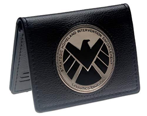 Agents of Shield Metal Logo Bi Fold Wallet