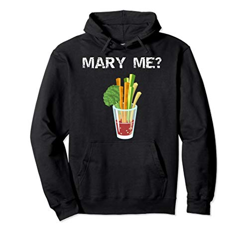 Mary Me Bloody Mary Lustiger Brunch Entwurf Pullover Hoodie