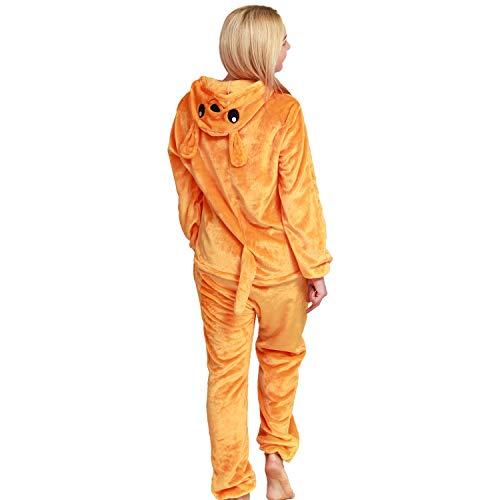 softan Pijama de Animal Onesies Entero Unisexo para Adultos con Capucha,Traje de Disfraz,Ropa de Dormir para Festival de Carnaval,Navidad y Halloween