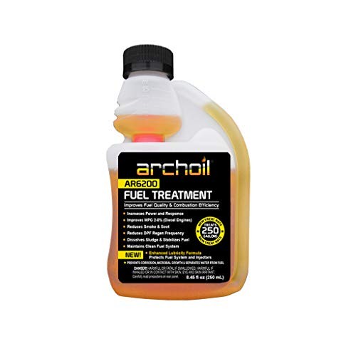 Archoil AR6200 (8oz) Fuel Treatment - Treats 250 Gallons - Diesel Additive/Fuel Additive