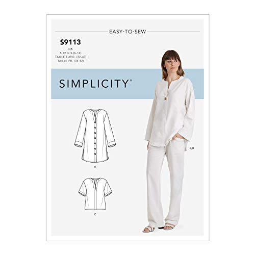 Simplicity SS9113H5 Schnittmuster S9113...