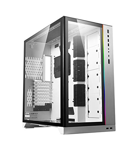 Lian Li O11DXL-W O11 Dynamic XL ROG Certified (White) ATX Full Tower Gaming Computer Case