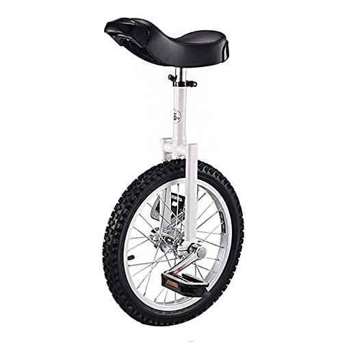 Monociclo Niños 16'18', Adultos para Hombres/Mujeres/Niños Grandes/Adolescentes Monociclo Grande De 20 Pulgadas para, Monociclo Bicicleta con Marco De Acero Y Llanta De Aluminio Durable