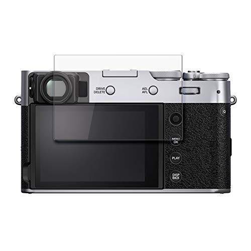 disGuard Schutzfolie für Fujifilm X100V [2 Stück] Kristall-Klar, Bildschirmschutzfolie, Glasfolie, Panzerglas-Folie, Bildschirmschutz, extrem Kratzfest, Schutz vor Kratzer, transparent
