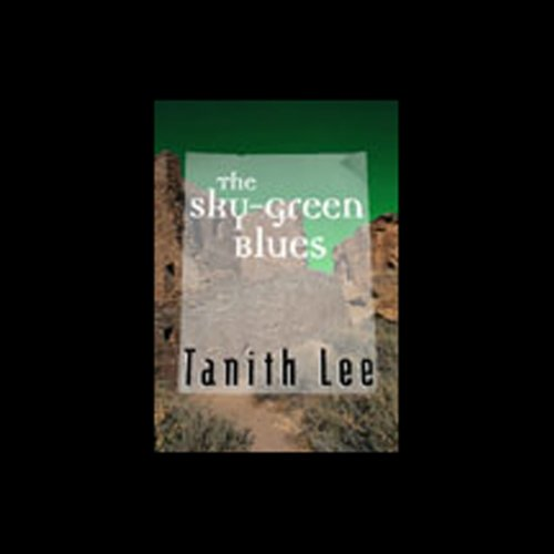 The Sky Green Blues audiobook cover art