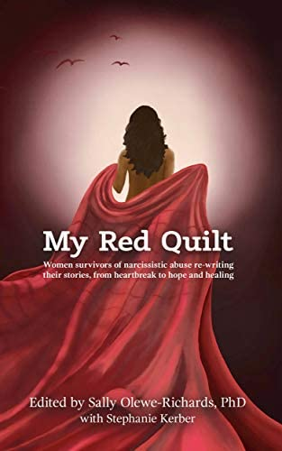 My Red Quilt Women survivors of narcissistic abuse re writing their stories from heartbreak product image