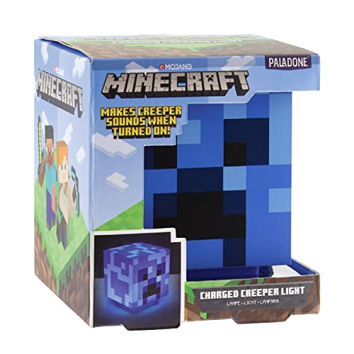 Paladone Minecraft Charged Creeper Light with...