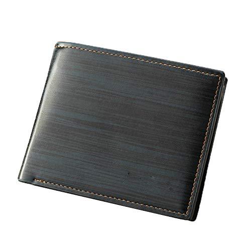 YYXDP Billetera para Hombres Billetera Corta Billetera con múltiples Tarjetas Billetera de Gran...