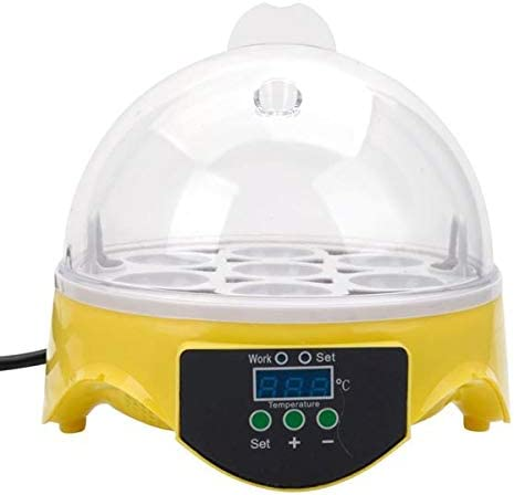 BRLUCKY Home 7-Egg Mini Practical Max 55% OFF Incubator US Challenge the lowest price of Japan Poultry Electric