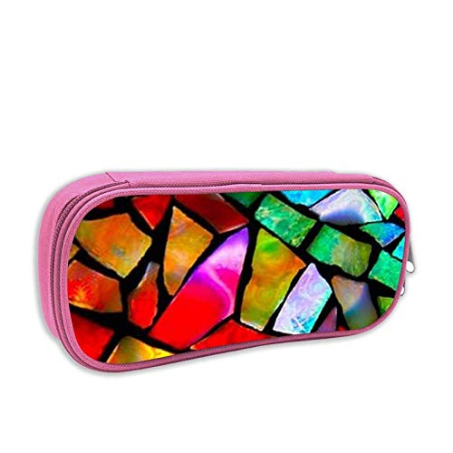 Bunte Pinterest Stifttasche, praktische und haltbare Federmäppchen, Reißverschlusstasche Federmäppchen für Mädchen Jungen Männer Frauen