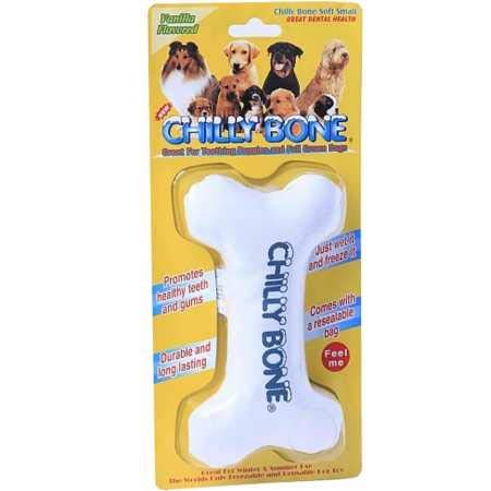 chilly bone puppy teething toys