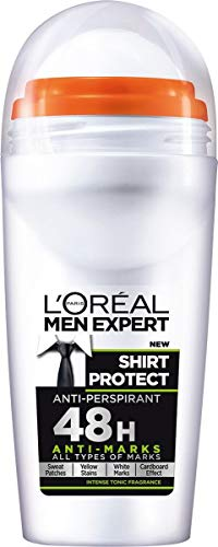 Loreal-Care Men Expert Shirt Protect Deodorant Roll On 50Ml 50 ml