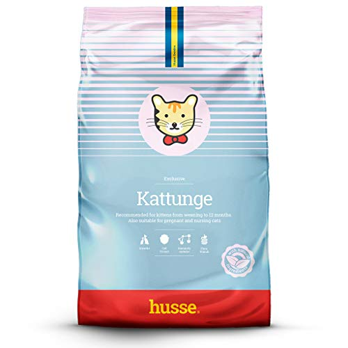 Husse - Kattunge 2 Kg | Pienso Gatos | Sabor Pollo | Prevención Bolas de Pelo Ingredientes