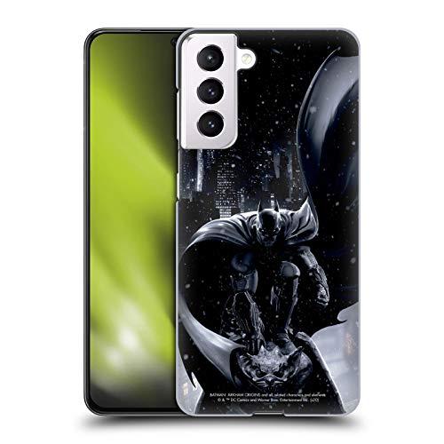 Head Case Designs Officially Licensed Batman: Arkham Origins Batman Key Art Hard Back Case Compatible with Samsung Galaxy S21 5G
