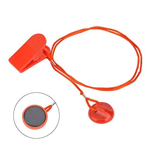 Alomejor Laufband Sicherheitsschlüssel Sport Sicherheits Tresor Schlüssel magnetische runder Schalter Verschluss(S)