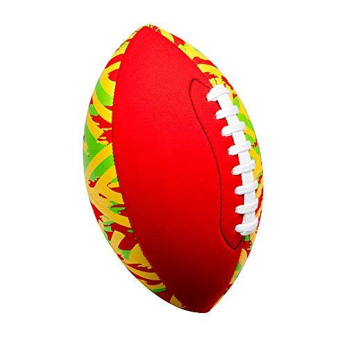 TOOLZ Neopren Football - rot - 22cm - Strand- und Wasserspielball