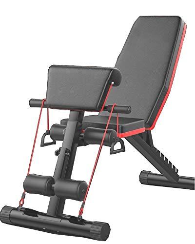Banco de Pesas Ajustable para Fitness,nimo Banco de Musculación Multifunción para Entrenamiento...