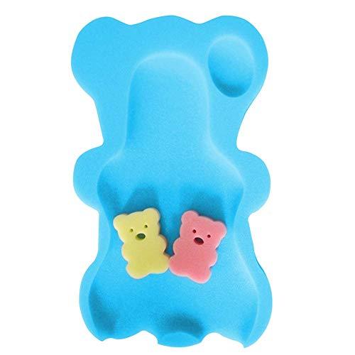 Baby baby zachte bad spons stoel antislip schuim kussen lichaamssteun kussen badkamer benodigdheden