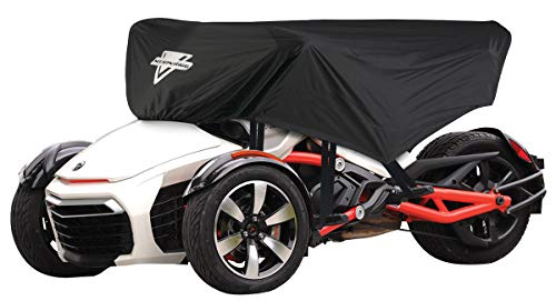 Nelson Rigg Defender Extreme CAS-375-S Can-Am Spyder Half Cover fits F3-T (Saddlebags only), RT, RT-S, RT-Limited, RT-S Special -  Nelson-Rigg