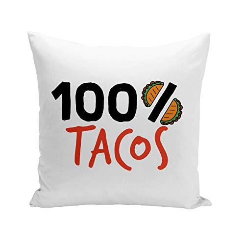 Fabulous Coussin 40x40 cm 100% Tacos Street Food Mexique France