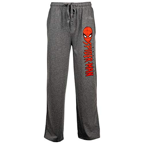 Calça de dormir unissex The Amazing Spider-Man, Cinza, XXLarge (44-46)