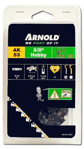 Arnold Sägekette 3/8 Zoll Hobby, 1.1 mm, 33 Treibglieder, 20 cm Schwert 1191-X1-4333