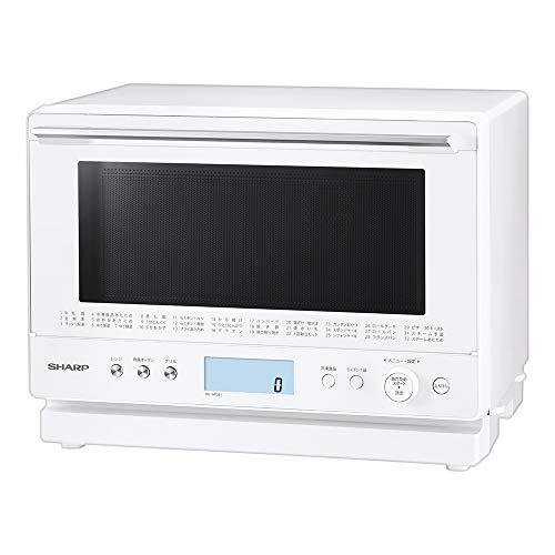 シャープ過熱水蒸気オーブンレンジ26Lコンベクション2段調理ホワイトRE-WF261-W