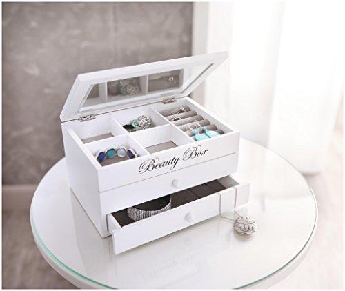 «Beaty Box» Joyero blanco