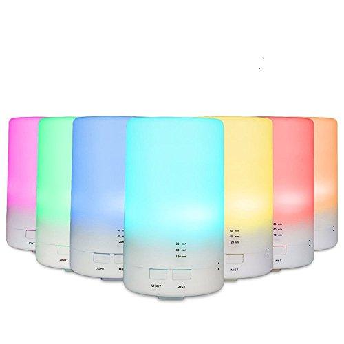 Kleurrijke nachtlampje stuim USB mini ultrasone aroma luchtbevochtiger 70 ml etherische olie aromatherapie machine watergebrek