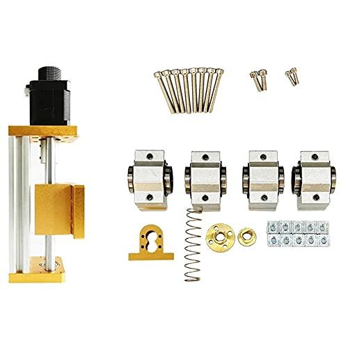 Baalaa CNC 3018 Plus X-Axis Upgrade Kit Traje CNC Router 3018 con CNC Fresadora Accesorios Mesa deslizante