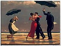 エドワードホッパーダンスアートワークウォールアートクラシックアートキャンバス絵画自然の風景ポスターリビングルームのプリント家の写真装飾40x60cmフレームなし