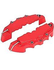 Qiilu Pinza de freno, kit de cubiertas de pinza de freno de disco universal para coche Decoración 3D Protector de guarda de pinza de freno