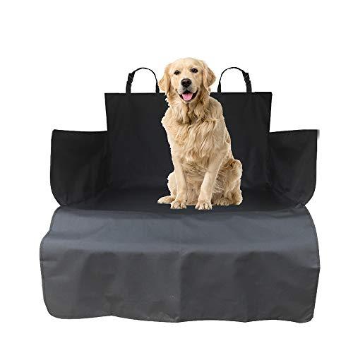 Preisvergleich Produktbild WeFine Kofferraumwanne für Hunde,  universal,  wasserdicht,  mit Stoßstangenklappe,  passend für Autos,  Allradwagen,  Kombi,  LKW,  Schrägheck,  SUV (lang,  schwarz)
