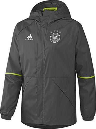 adidas Herren DFB Rain Jacket Die Regenjacke der Deutschen Nationalmannschaft Fußball - Jacken, Mehrfarbig, XS