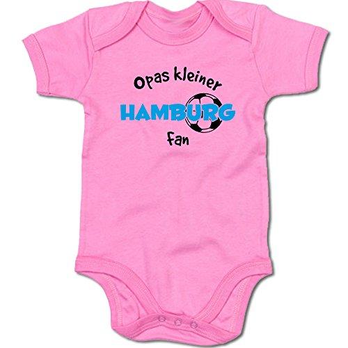 G-graphics Opas Kleiner Hamburg Fan Baby Body Suit Strampler 250.0297 (0-3 Monate, pink)