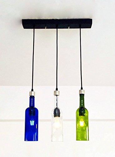 MULTI COLOUR WINE Bottle Industrial Jacksonville Mall Light fixture Sale price Chandelier -