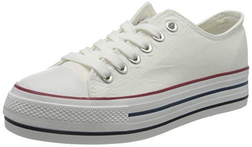 Refresh 69656.0, Zapatillas Mujer, Blanco (Blanco Blanco), 37 EU