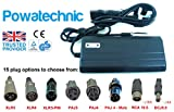 Powatechnic LiFePO4 Chargeur de Batterie Lithium Li-ION 36 V/42 V 3 A pour vélo électrique, Scooter, Fauteuil Roulant, Chariot de Golf XLR 3pin Noir