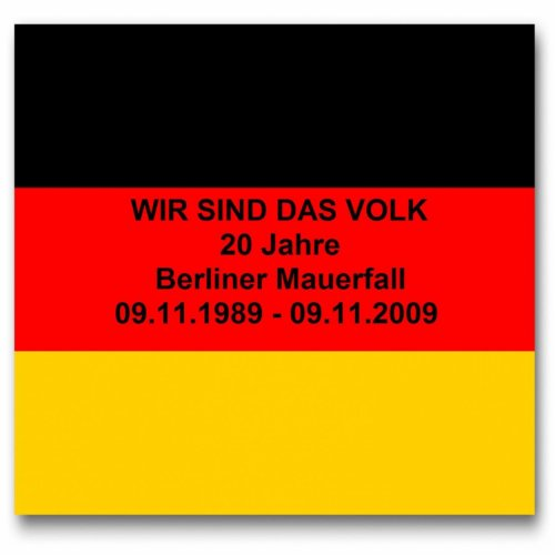 20 Jahre Berliner Mauerfall / 20th Anniversary of the Fall of the Berlin Wall pres. the BEATMUSIK (09.11.1989 - 09.11.2009)