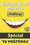 Essaye de ne pas rire challenge: Le jeu pour rigoler en famille | + de 120 questions amusantes, des modes de jeu inédits et des dizaines de gage pour ... | Cadeau idéal pour enfants de 6 à 12 ans