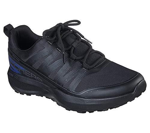 Skechers Men's GO Trail Jackrabbit Black Running Shoe (220017-BBK) (6 UK (7 US))