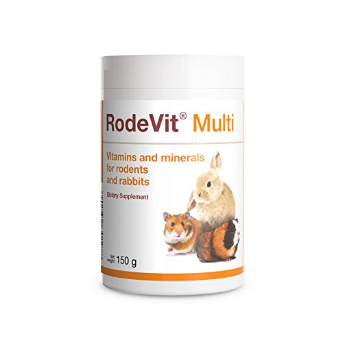 PETS Dolfos RodeVit Multi Vitamins Minerals and Amino acids Supplement 150g Powder for Rabbits and Rodents