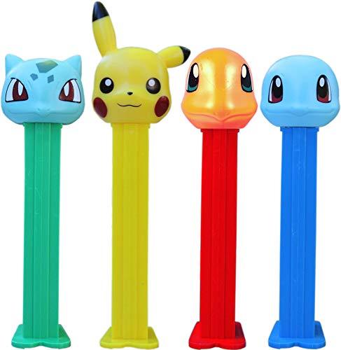 Pokémon Pez Dispenser mit EIN Refill (Einzeln Verkauft, Eine zufällige Buchstaben mitgeliefert)