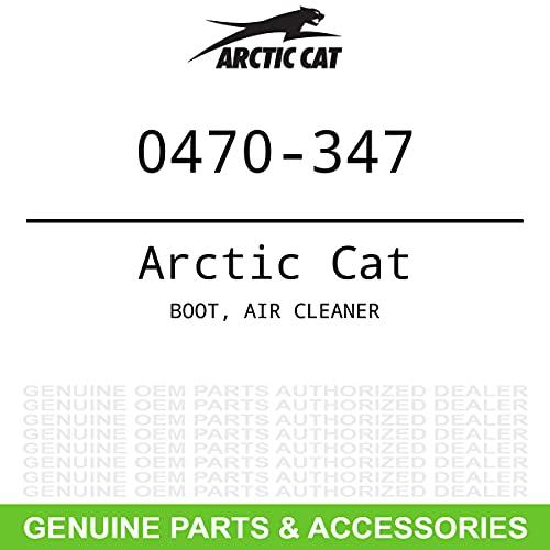 Arctic Cat 0470-347 BOOT, AIR CLEANER , Black