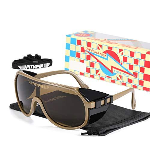 LBYSK Gafas De Sol Polarizadas En Bicicleta, Copas Polarizadas De Ciclismo De Ciclismo para Hombres Mujeres, Correr Pesca De Pesca De Pesca Gafas,D