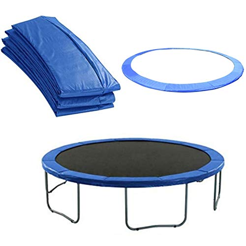 10ft Universal Trampoline Pad Replacement,Trampoline Edge Cover,Round Spring Cover Edge Protector for Trampoline,UV-Resistant,Tear Resistant,Blue