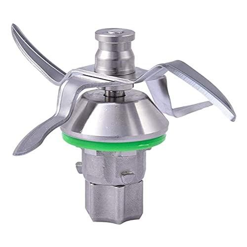 WUYUNXIAN Cuchilla Mezclador Cuchilla Acero Inoxidable Ajuste para TM5 Vorwerk Thermomix Máquina de Cocina Alternativa Afilada de licuadora de reemplazo