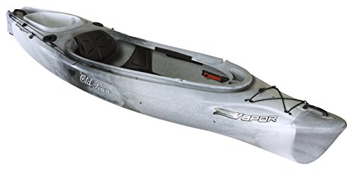Old Town Canoes & Kayaks Vapor 10 Angler Fishing Kayak, Urban Camo